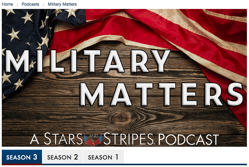 Stars & Stripes Podcast on Military Sightings of UAP