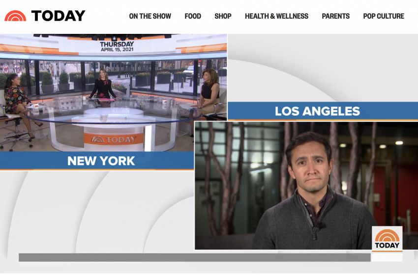 UFO UAP Story Further Enters Mainstream on TODAY Show