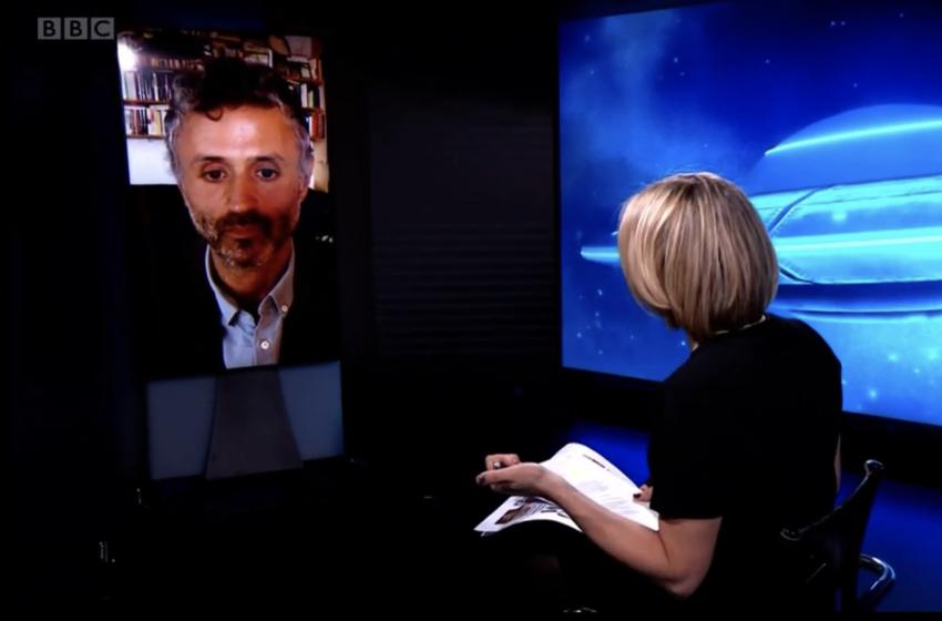 BBC Newsnight Interviews New Yorker Writer Gideon Lewis-Kraus on UAPs